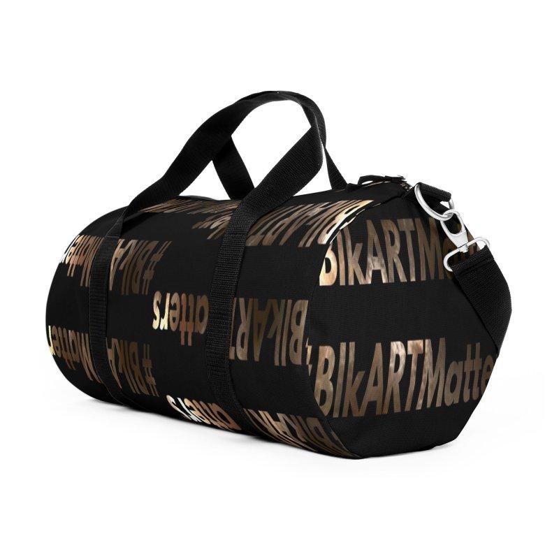 #BlkARTMatters #MelaninPoppin Edition in Duffel Bag by DC APPAREL
