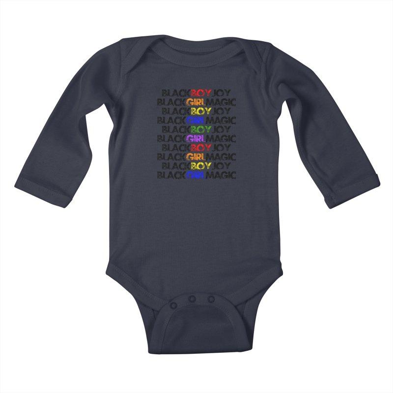 #BlkARTMatters #ForTheKids Kids Baby Longsleeve Bodysuit by DC APPAREL