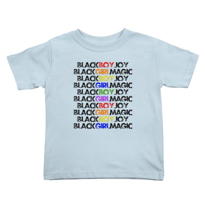 #BlkARTMatters #ForTheKids Kids Toddler T-Shirt by DC APPAREL
