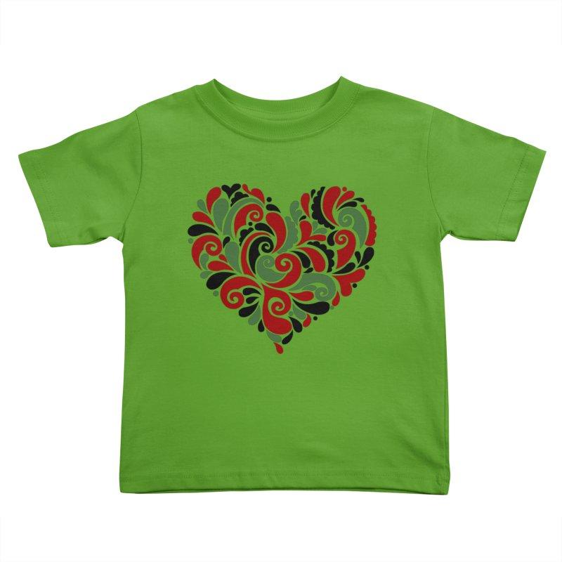 #BlkARTMatters #BlkLove #DCPlays Kids Toddler T-Shirt by DC APPAREL