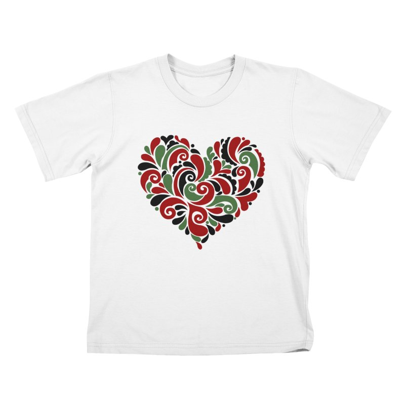 #BlkARTMatters #BlkLove #DCPlays Kids T-Shirt by DC APPAREL