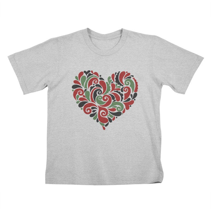 #BlkARTMatters #BlkLove #DCPlays Kids T-Shirt by DC APPAREL