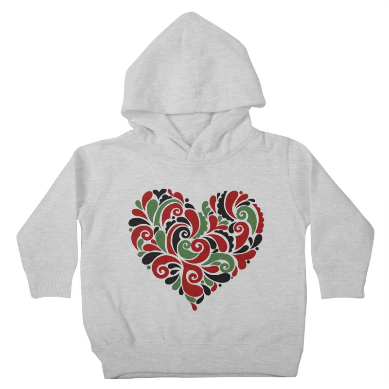 #BlkARTMatters #BlkLove #DCPlays Kids Toddler Pullover Hoody by DC APPAREL