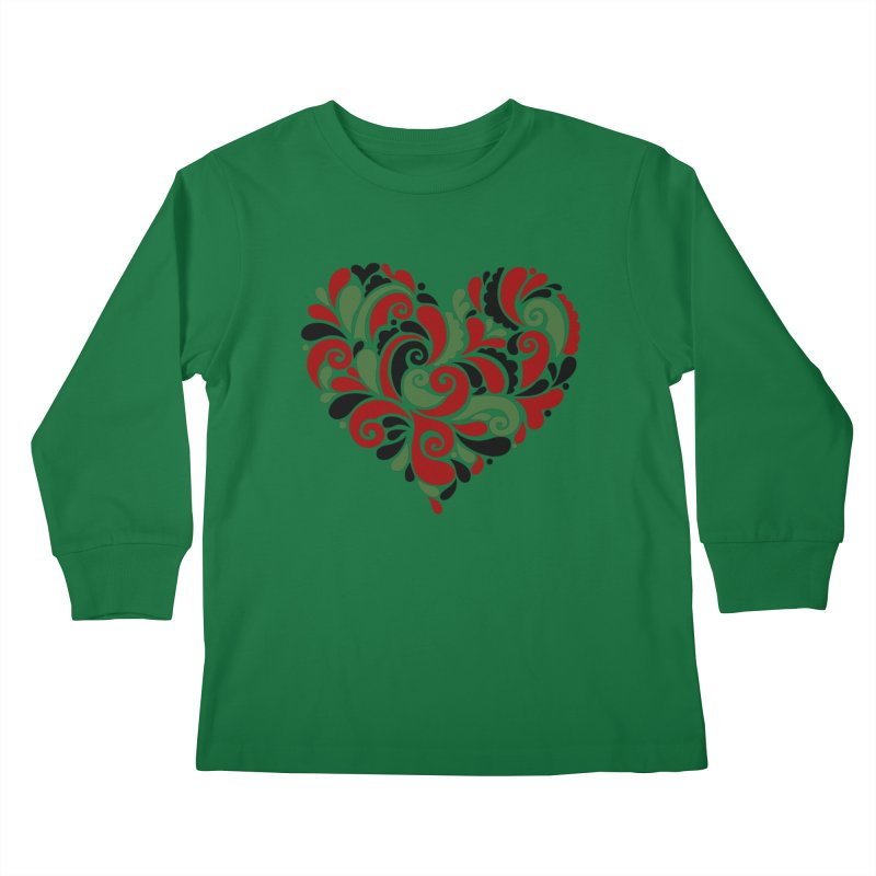#BlkARTMatters #BlkLove #DCPlays Kids Longsleeve T-Shirt by DC APPAREL