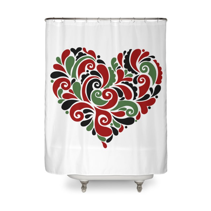 #BlkARTMatters #BlkLove #DCPlays Home Shower Curtain by DC APPAREL