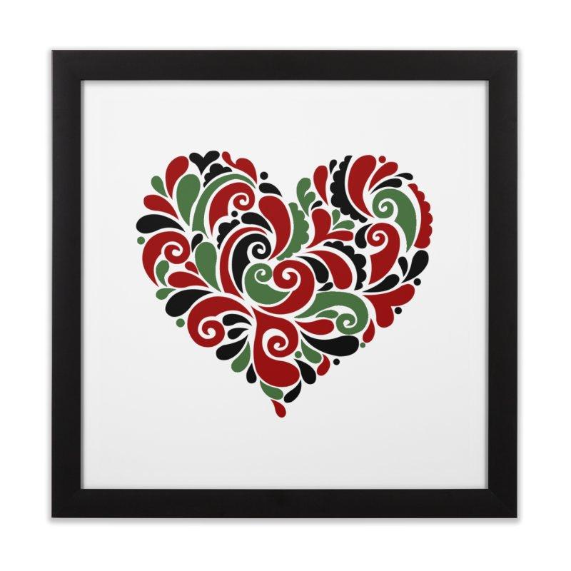 #BlkARTMatters #BlkLove #DCPlays Home Framed Fine Art Print by DC APPAREL