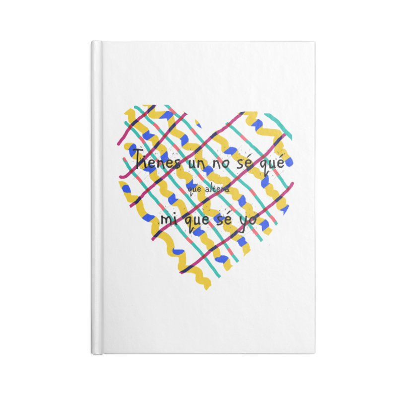 nosequé Accessories Blank Journal Notebook by DERG's Artist Shop