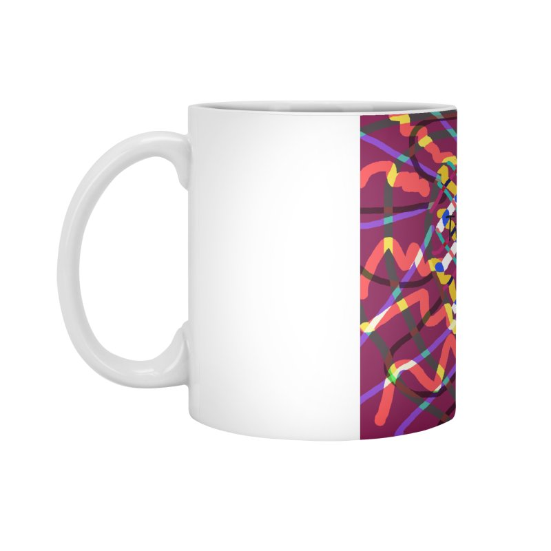 nosequé psychedelic Accessories Mug by DERG's Artist Shop