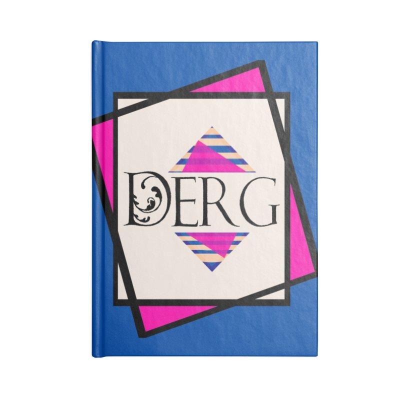 DERG Accessories Blank Journal Notebook by DERG's Artist Shop