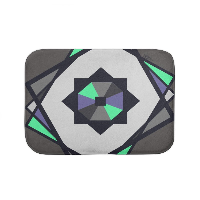 Abstract Home Bath Mat by DERG's Artist Shop