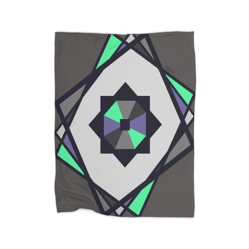 Abstract Home Blanket by DERG's Artist Shop