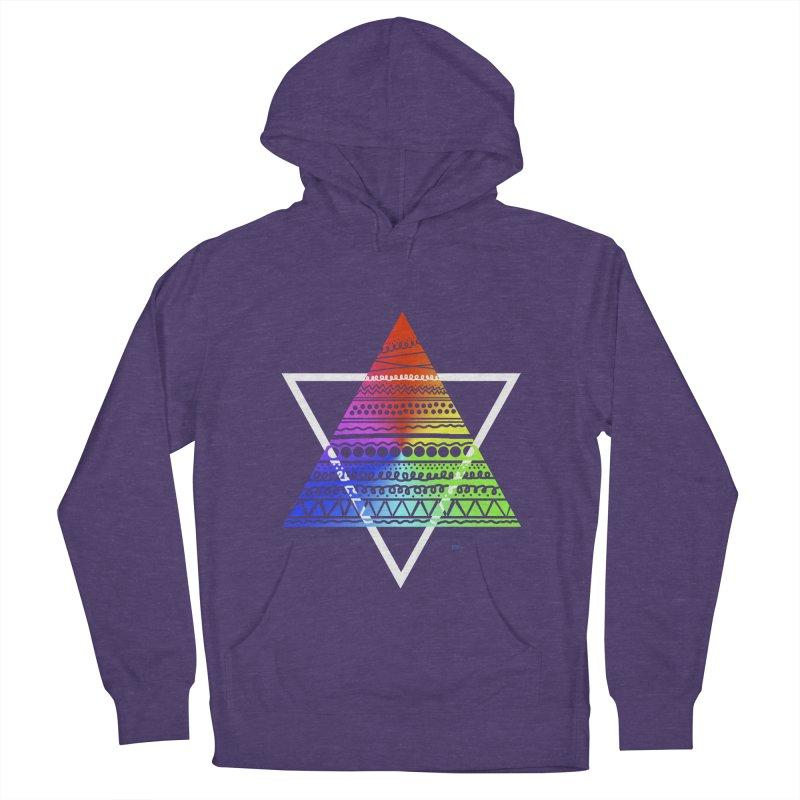 Pyramid Women's Pullover Hoody by DERG's Artist Shop