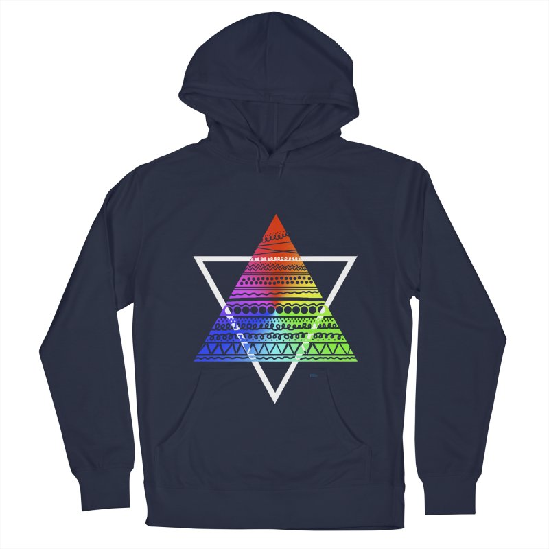 Pyramid Women's Pullover Hoody by DERG's Artist Shop