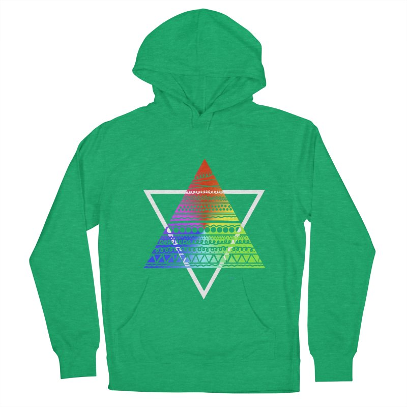 Pyramid Men's Pullover Hoody by DERG's Artist Shop
