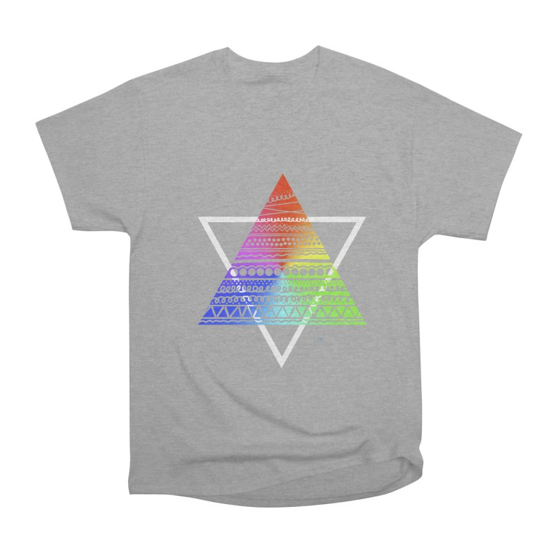 Pyramid Women's Classic Unisex T-Shirt by DERG's Artist Shop