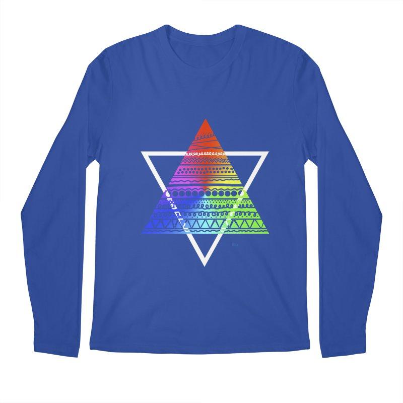 Pyramid Men's Longsleeve T-Shirt by DERG's Artist Shop