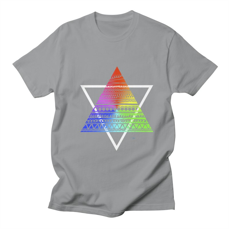 Pyramid Men's T-shirt by DERG's Artist Shop