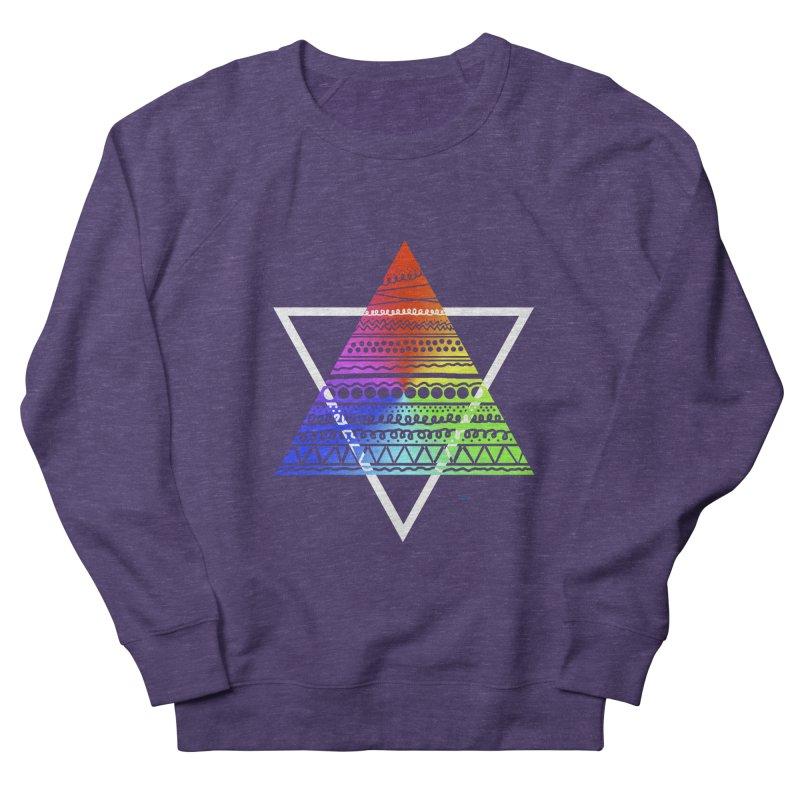 Pyramid Men's Sweatshirt by DERG's Artist Shop