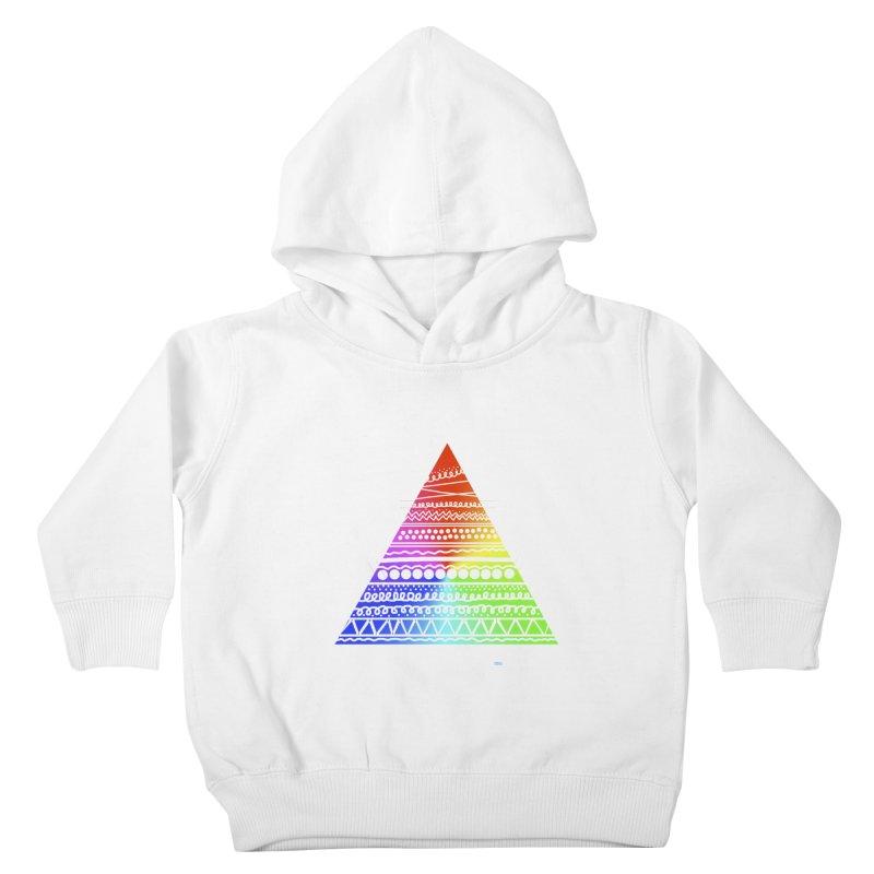 Pyramid Kids Toddler Pullover Hoody by DERG's Artist Shop