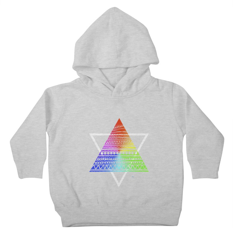 Pyramid Kids Toddler Pullover Hoody by DERG's Artist Shop