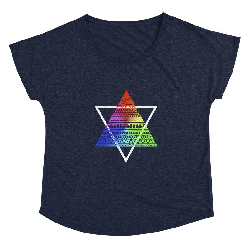Pyramid Women's Dolman by DERG's Artist Shop