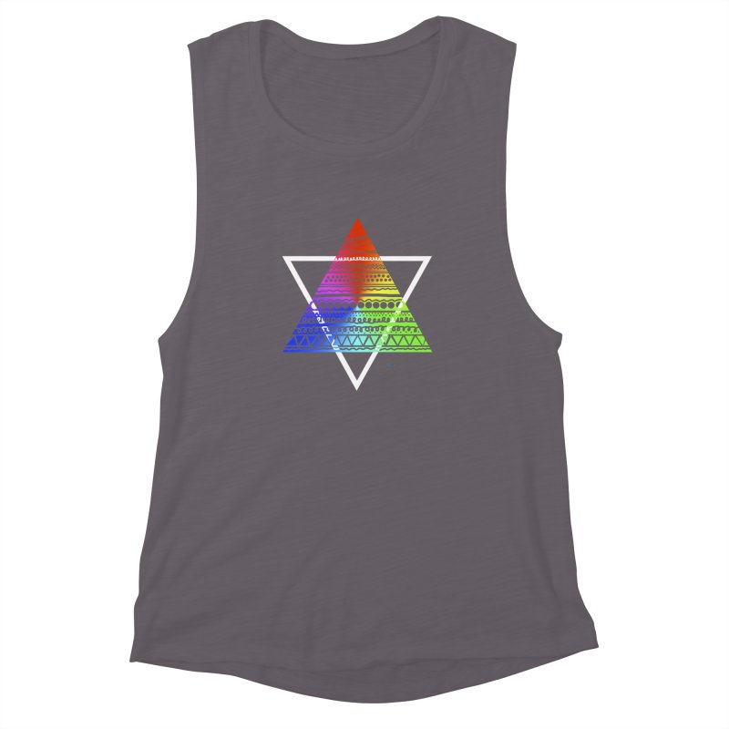 Pyramid Women's Muscle Tank by DERG's Artist Shop