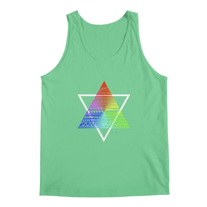 Pyramid Men's Tank by DERG's Artist Shop