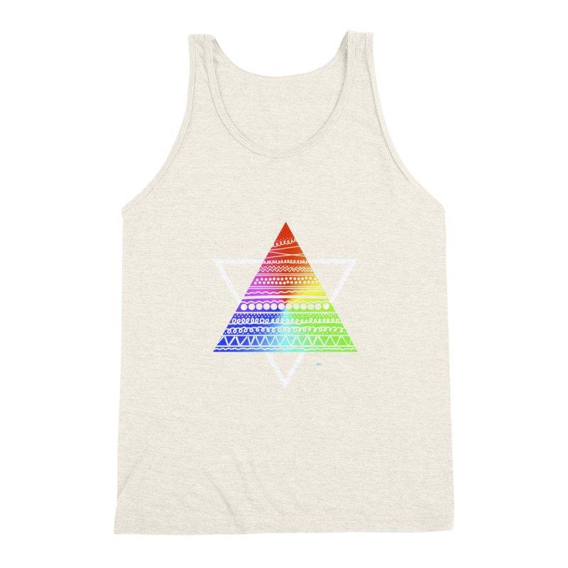Pyramid Men's Triblend Tank by DERG's Artist Shop