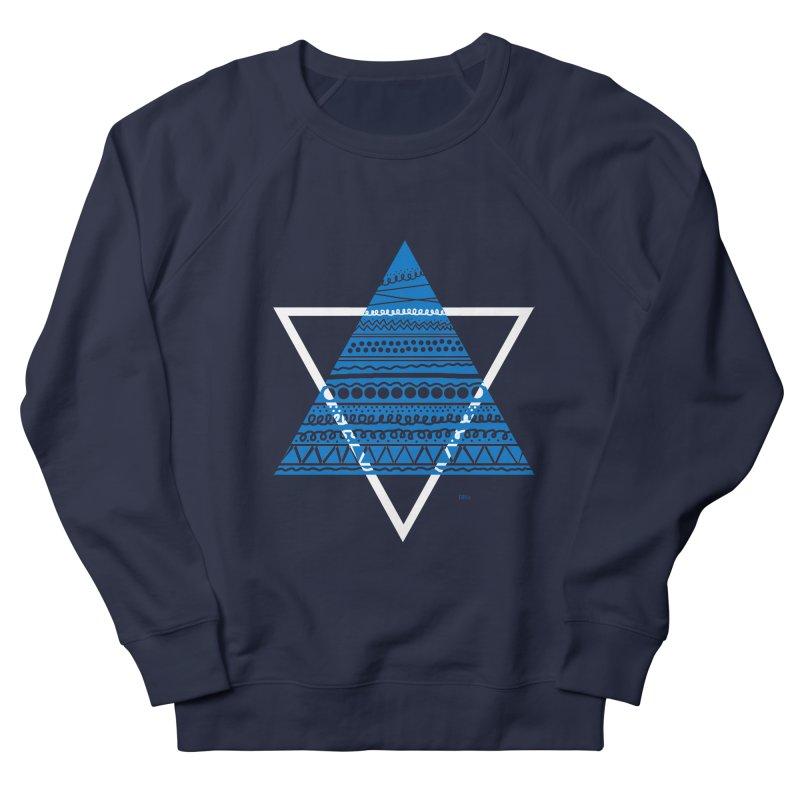 Pyramid blue Women's Sweatshirt by DERG's Artist Shop