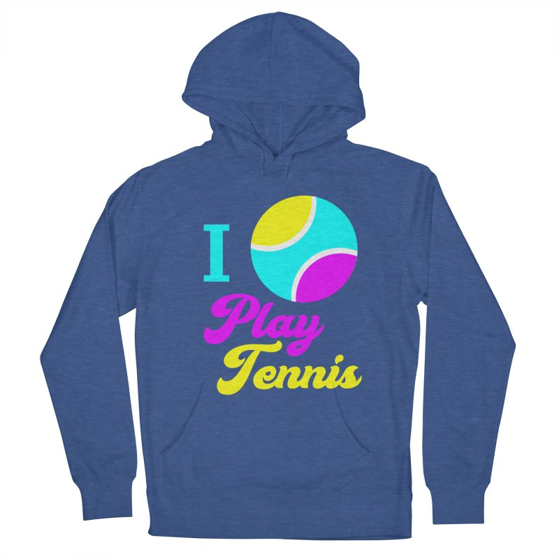 I play tennis Men's Pullover Hoody by DERG's Artist Shop