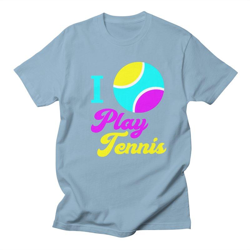 I play tennis Women's Unisex T-Shirt by DERG's Artist Shop