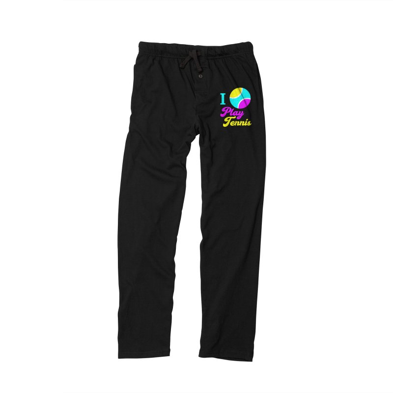 I play tennis Women's Lounge Pants by DERG's Artist Shop