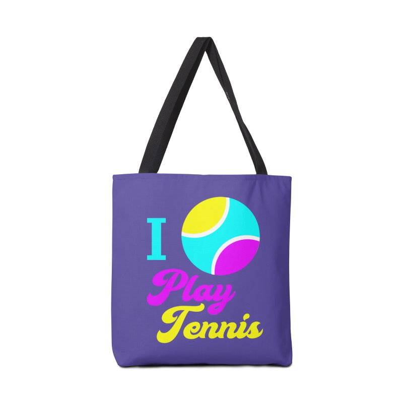 I play tennis Accessories Bag by DERG's Artist Shop