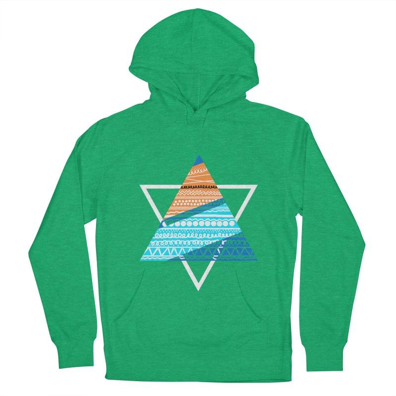Pyramid2 Men's Pullover Hoody by DERG's Artist Shop