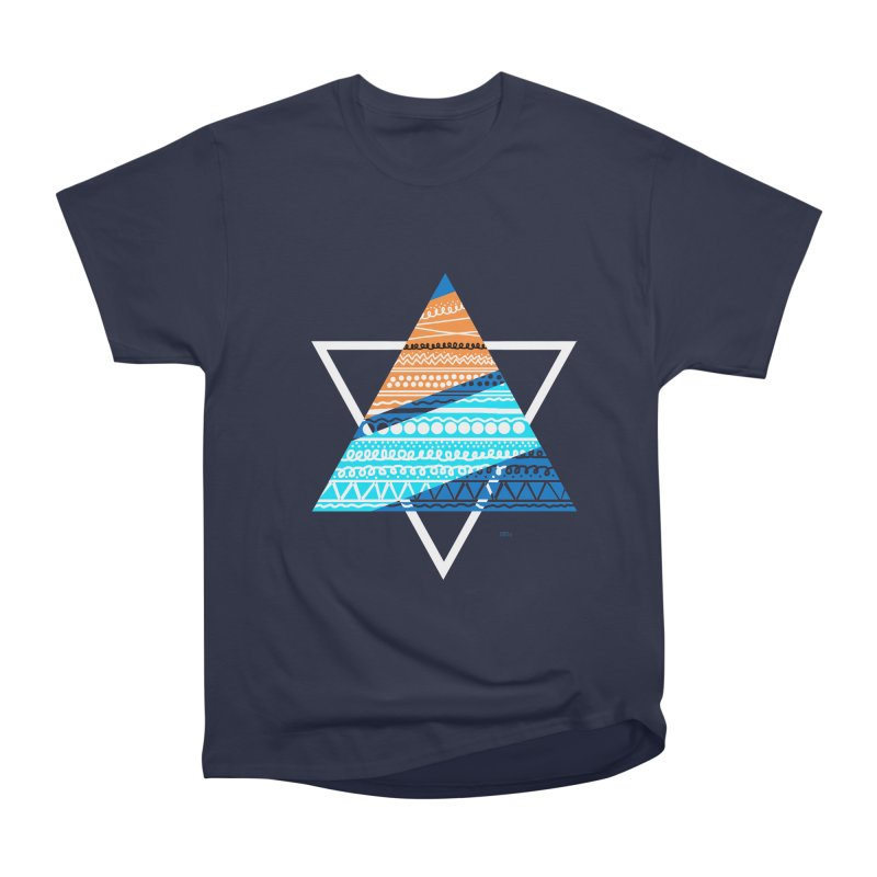 Pyramid2 Men's Classic T-Shirt by DERG's Artist Shop