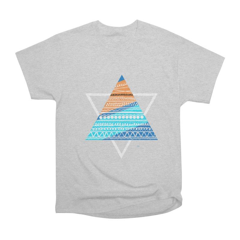 Pyramid2 Women's Heavyweight Unisex T-Shirt by DERG's Artist Shop