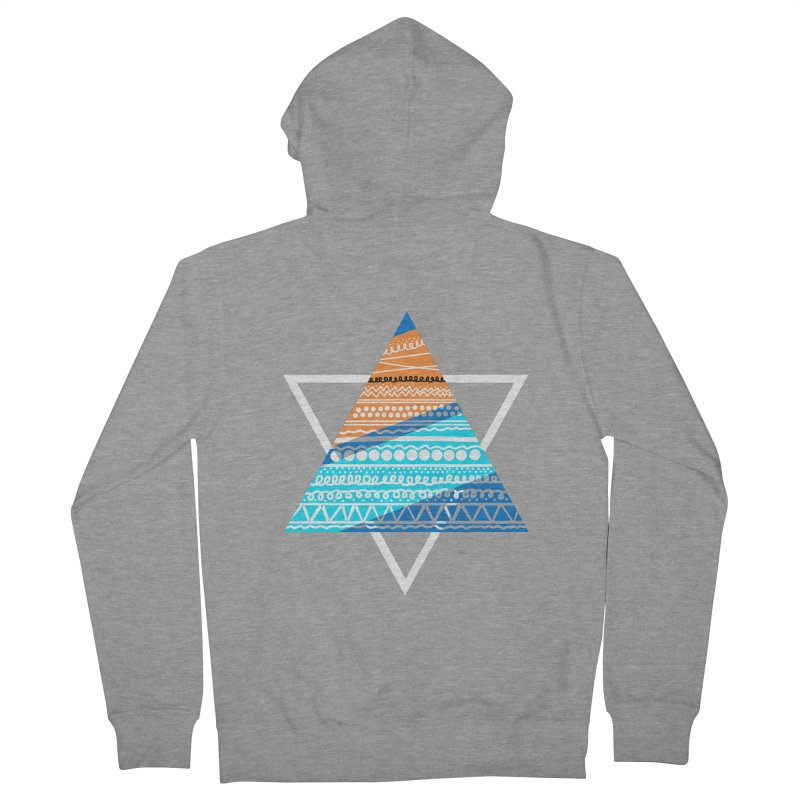 Pyramid2 Women's Zip-Up Hoody by DERG's Artist Shop