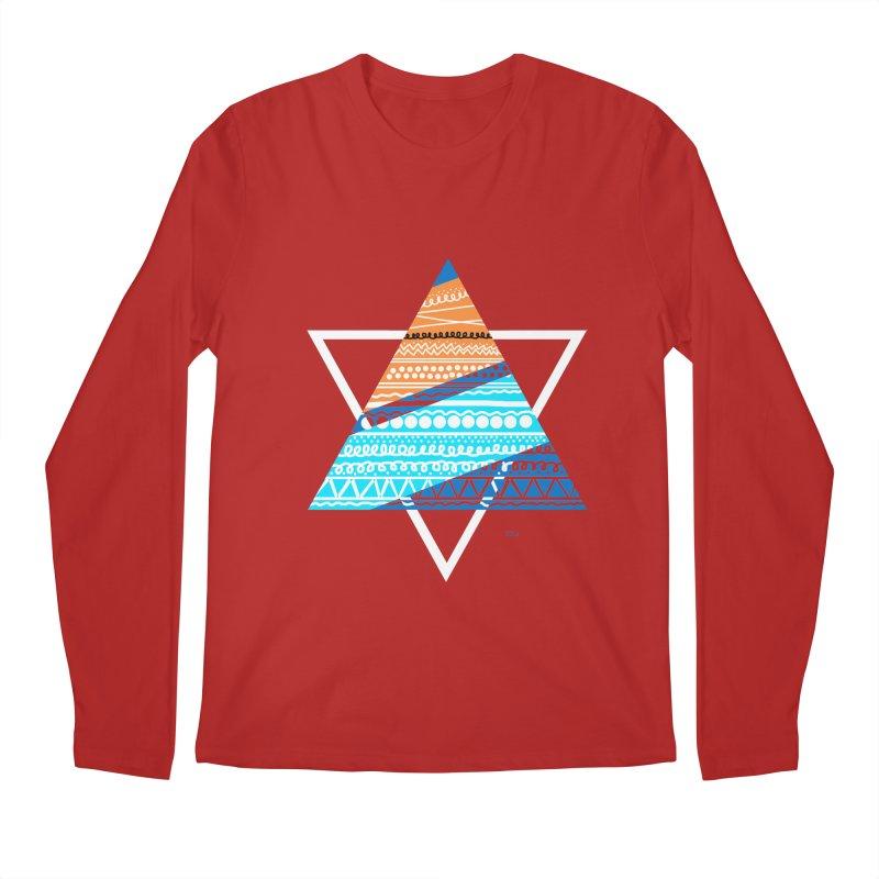 Pyramid2 Men's Longsleeve T-Shirt by DERG's Artist Shop