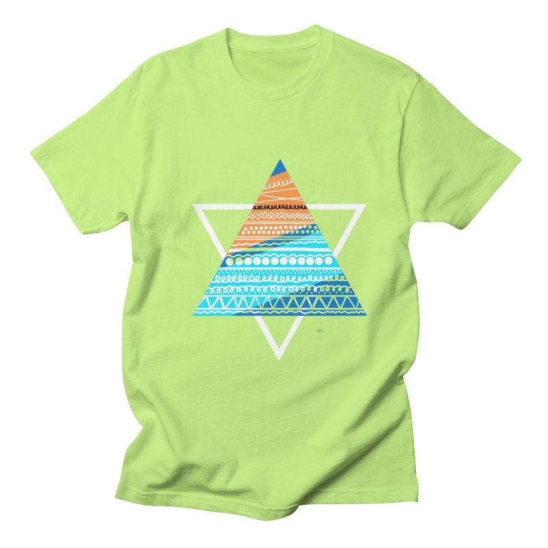 Pyramid2 Men's T-Shirt by DERG's Artist Shop