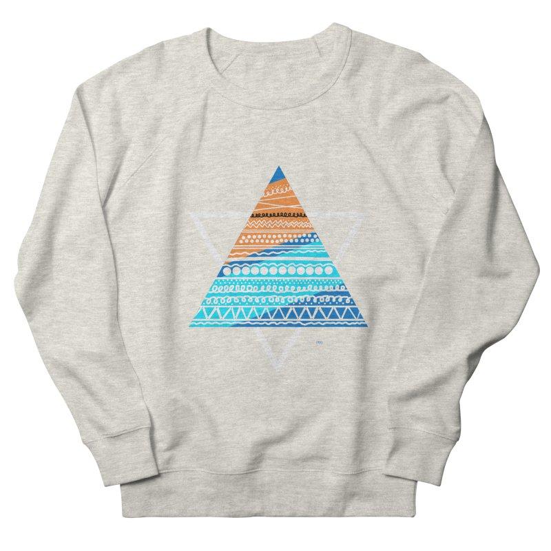 Pyramid2 Women's Sweatshirt by DERG's Artist Shop
