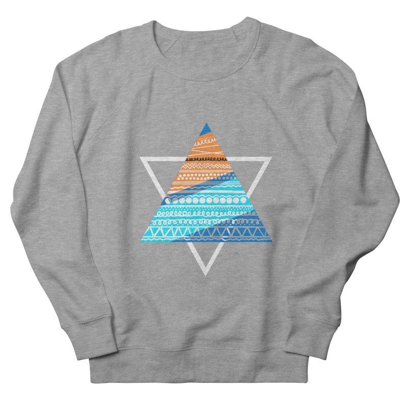 Pyramid2 Men's French Terry Sweatshirt by DERG's Artist Shop
