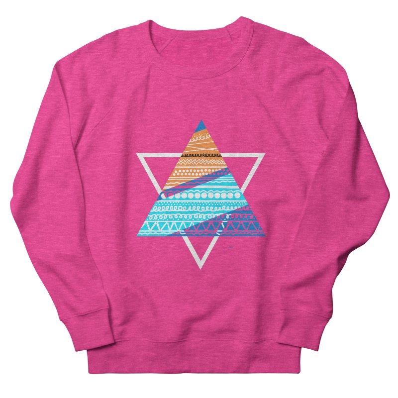 Pyramid2 Men's Sweatshirt by DERG's Artist Shop