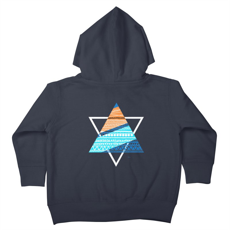 Pyramid2 Kids Toddler Zip-Up Hoody by DERG's Artist Shop