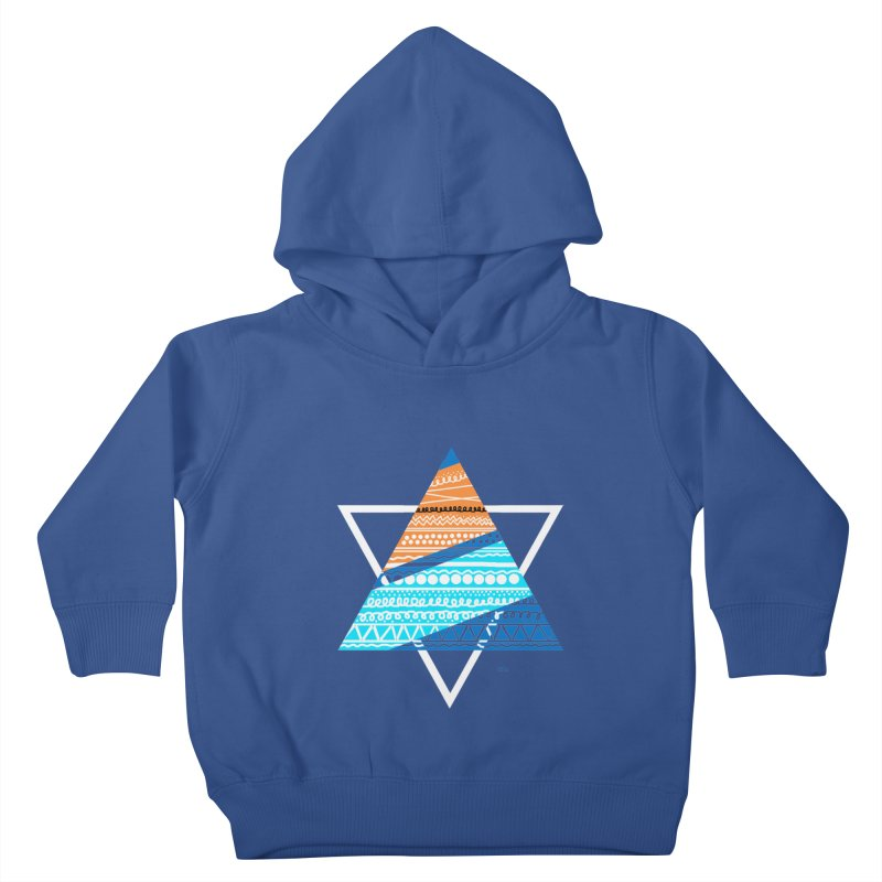 Pyramid2 Kids Toddler Pullover Hoody by DERG's Artist Shop