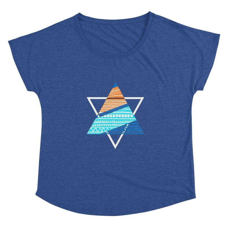 Pyramid2 Women's Dolman by DERG's Artist Shop
