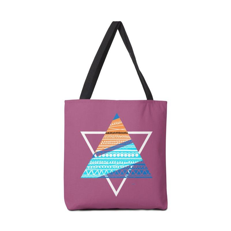 Pyramid2 Accessories Bag by DERG's Artist Shop