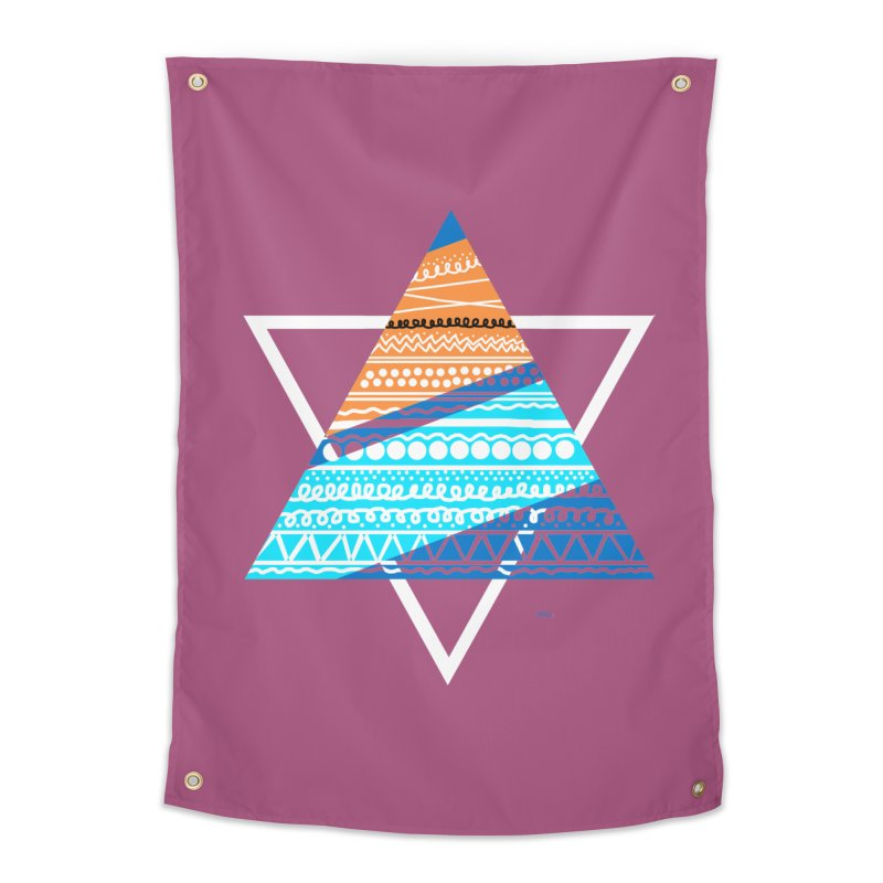 Pyramid2 Home Tapestry by DERG's Artist Shop