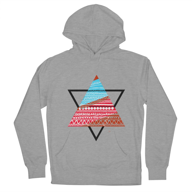 Pyramid3 Women's Pullover Hoody by DERG's Artist Shop