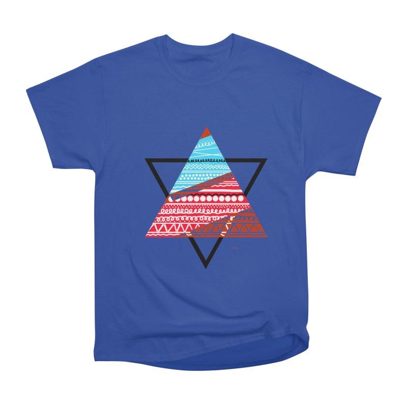 Pyramid3 Men's Heavyweight T-Shirt by DERG's Artist Shop