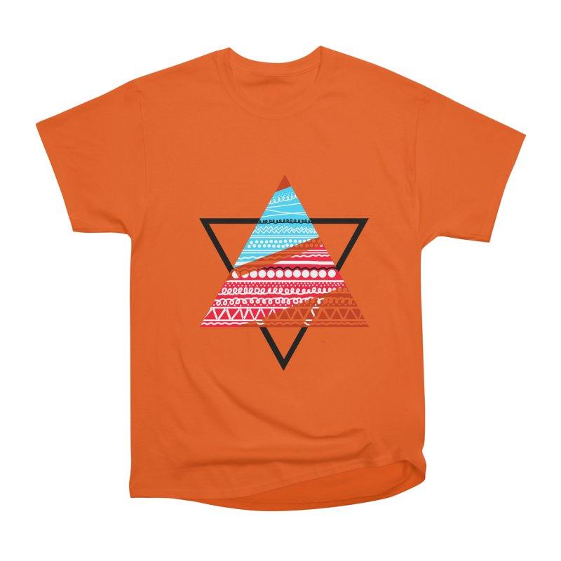 Pyramid3 Women's Heavyweight Unisex T-Shirt by DERG's Artist Shop